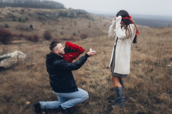 How to propose – Which knee?